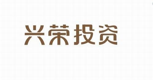 兴荣投资   字体设计 美术字 标志设计